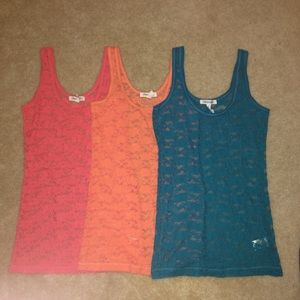 3 LACE TOPS aeropostale bundle